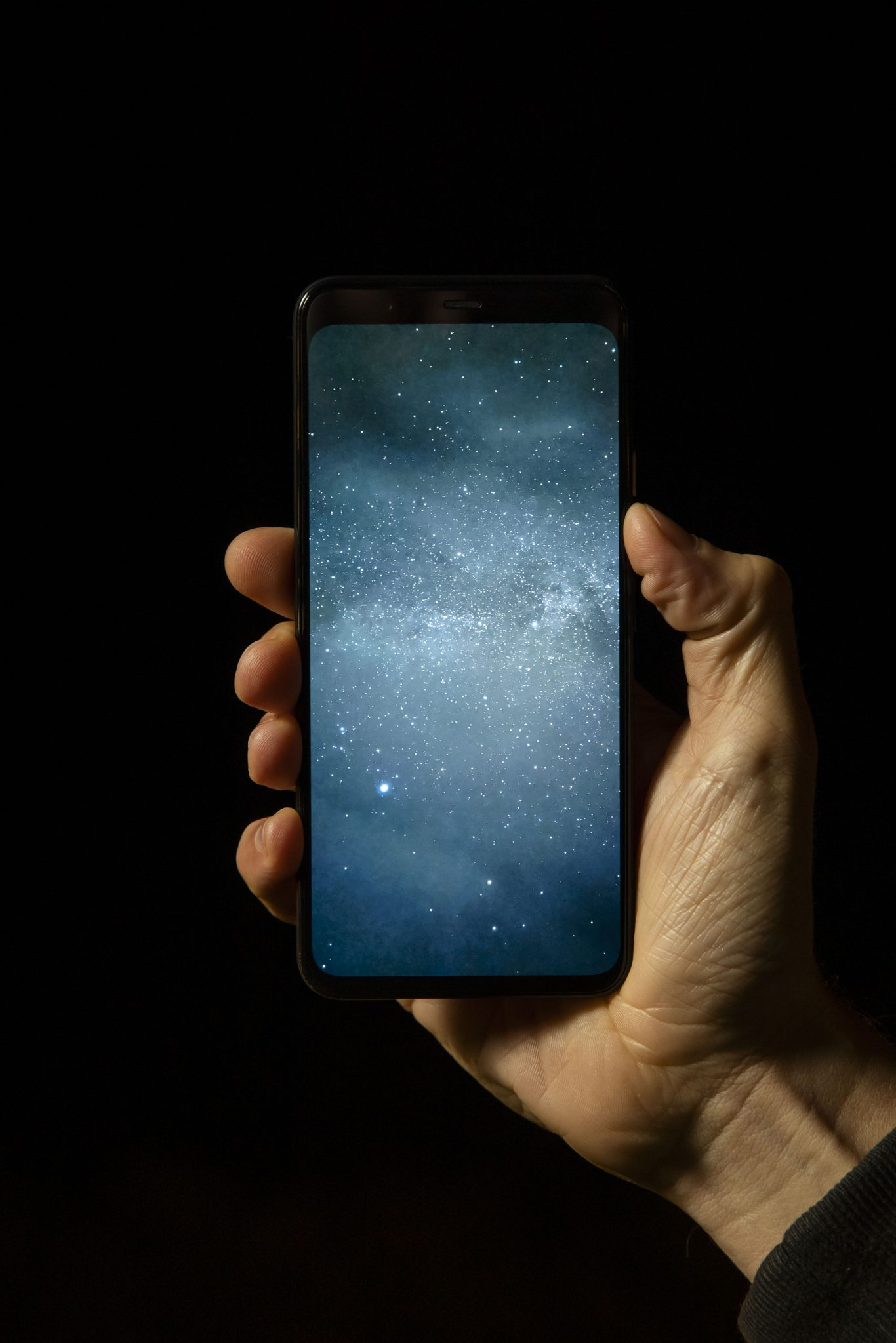 Residents and school children from Star, in Pembrokeshire, use the Google Pixel 4 to capture photos of the stars and the Milky Way, Wales. PRESS ASSOCIATION Photo. Picture date: Wednesday October 23, 2019. A study from Google Pixel 4 reveals that those living in Wales are least likely in the UK to look up to the night sky. The research also reveals that nearly two-thirds of Britons didn't know that our Galaxy is called the Milky Way, and 17% of people want to take better photos of the night sky. The Google Pixel 4 launched earlier this month with new enhanced Night Sight mode, which can capture photos of the Milky Way in just one tap. Photo credit: Adam Gasson/PA Wire