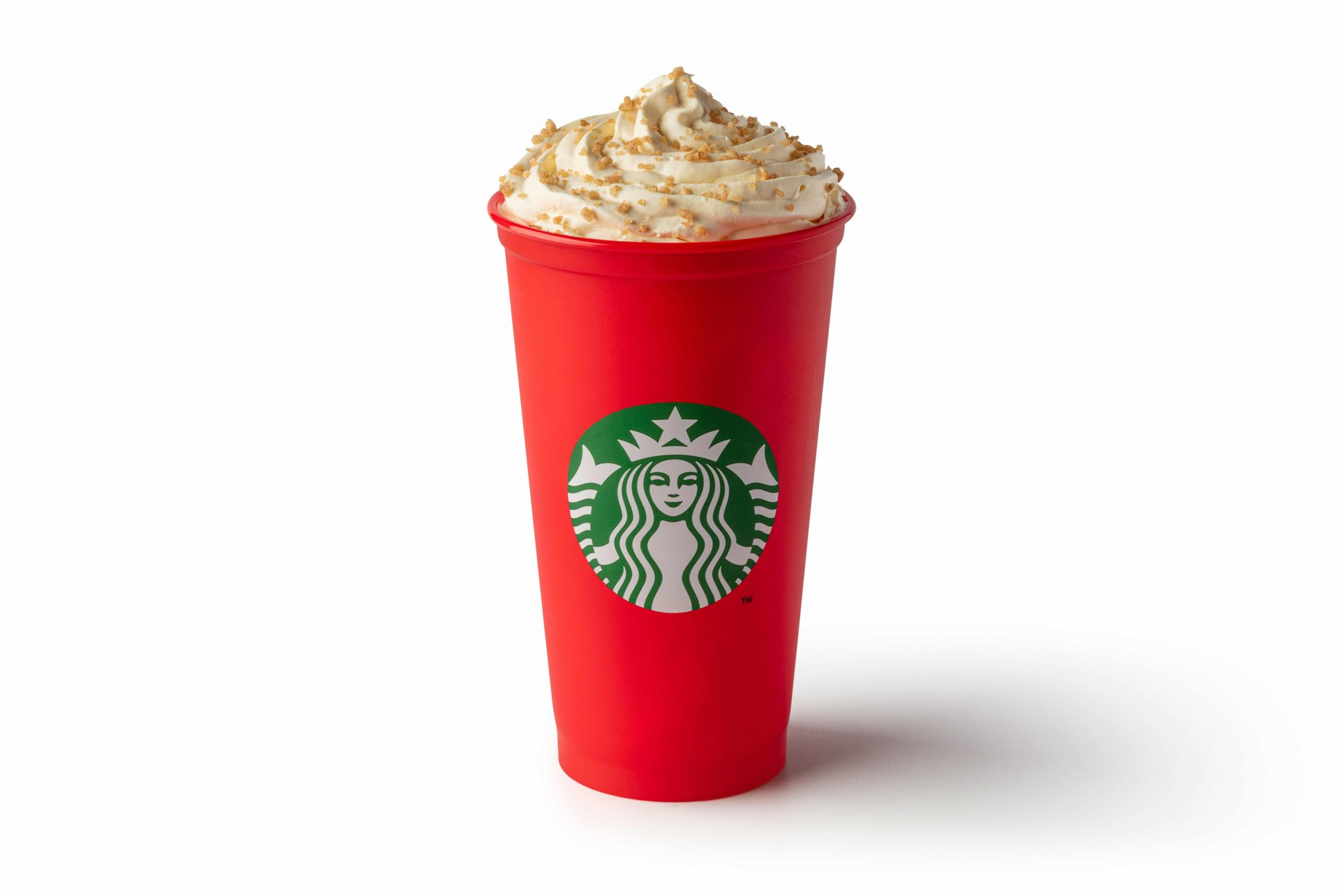 Toffee Nut Latte Reusable Cup