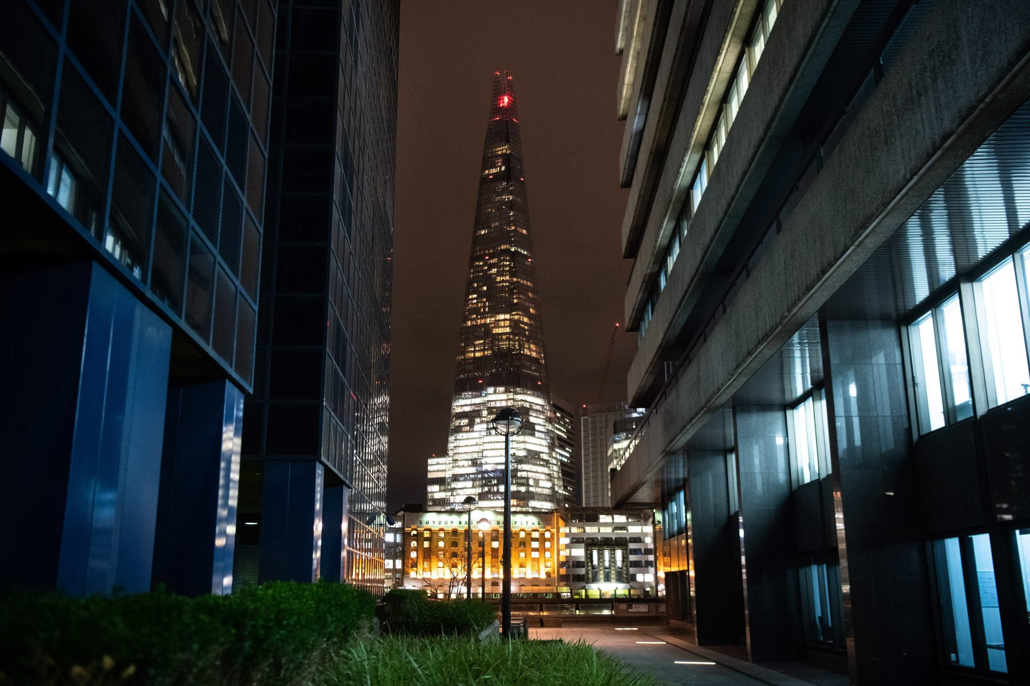 General views of the UK's tallest building The Shard during an astrophotography evening hosted by Google Pixel 4 at the Shard, London. PA Photo. Picture date: Wednesday November 6, 2019. The Shard turned off its lights so guests at the event could get a clear view of the night sky to take pictures using the phone. The Google Pixel 4 launched last month with the new enhanced Night Sight mode, which can capture photos of the Milky Way in just one tap. Photo credit should read: Matt Crossick/PA Wire