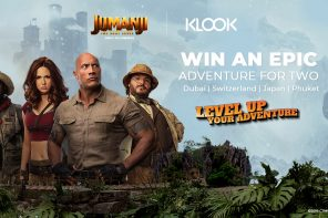 KLOOK x SONY ENTERTAINMENT JUMANJI: THE NEXT LEVEL