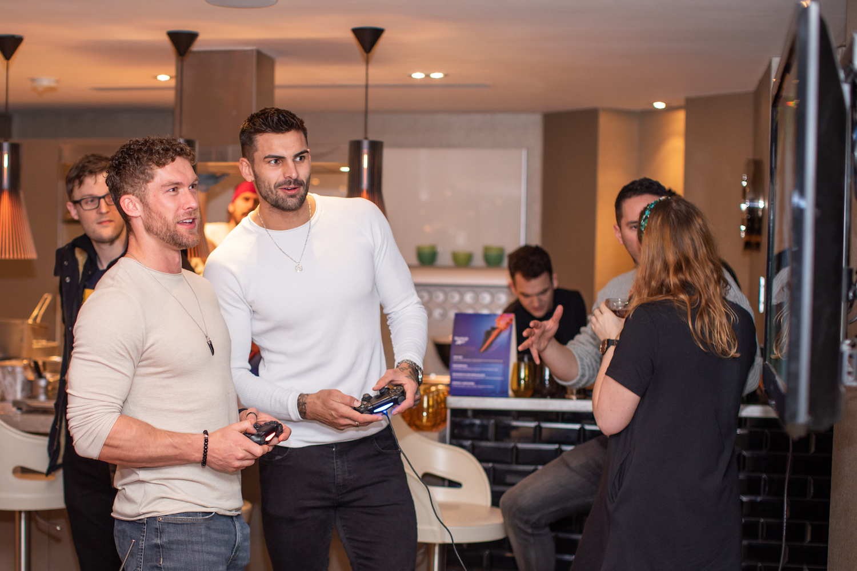 Chris Williamson & Adam Collard Attend Reebok's Fight Night Event (1)