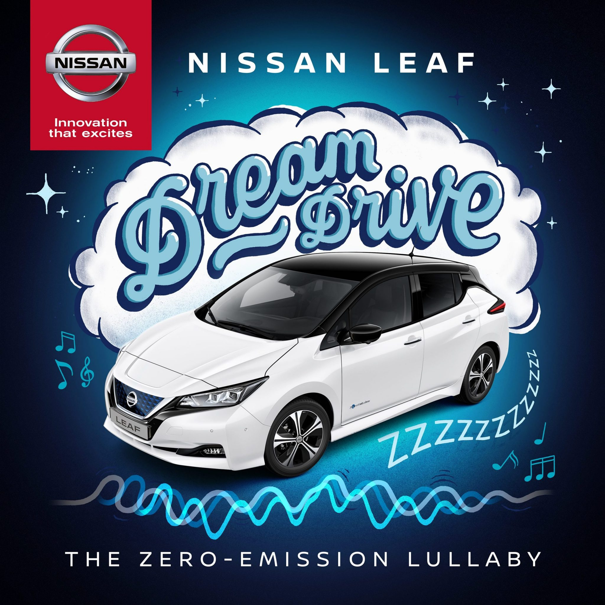 Nissan LEAF Dream Drive – the new zero-emission lullaby