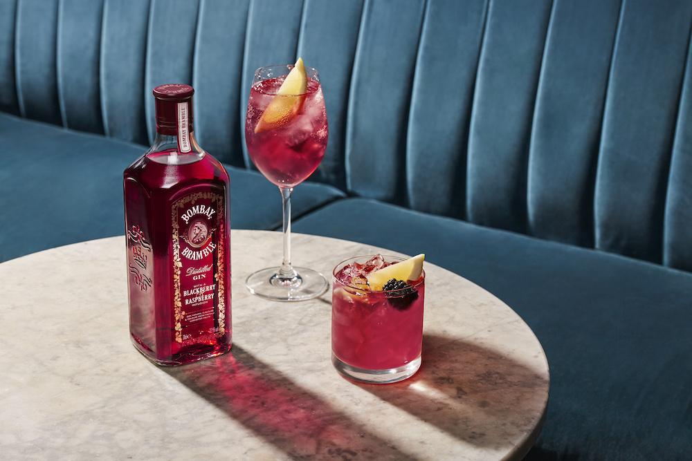 Bombay Bramble Cocktail & Bombay Bramble & Tonic