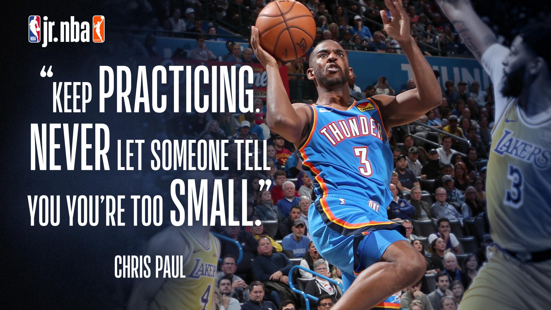 Chris Paul - Jr. NBA at Home