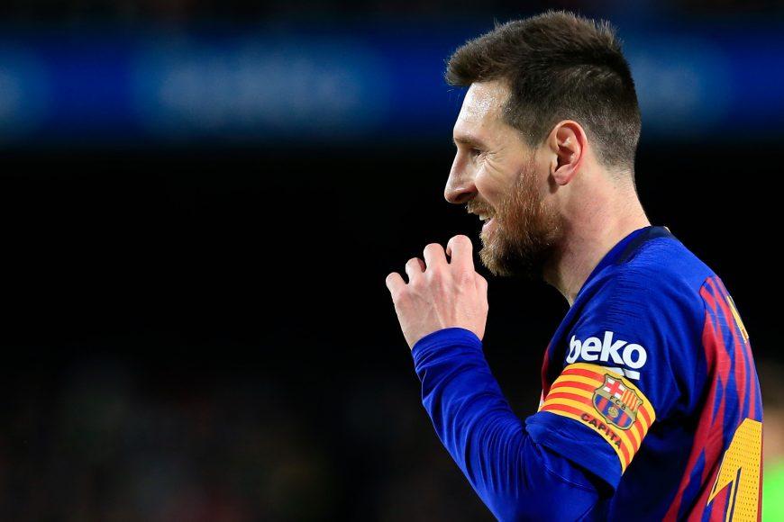 Lionel Messi - FC Barcelona. Photo courtesy of La Liga