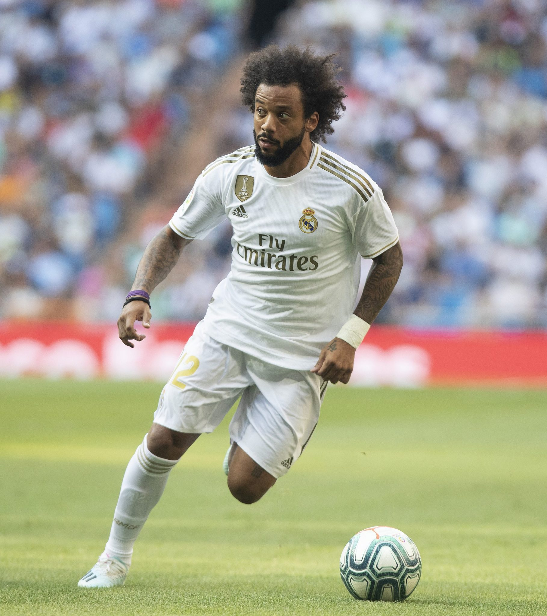 Marcelo - Real Madrid. Photo courtesy of La Liga