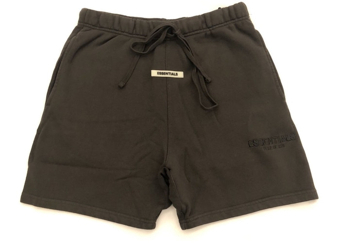 Fear-Of-God-Essentials-Sweat-Shorts-Black-Ink