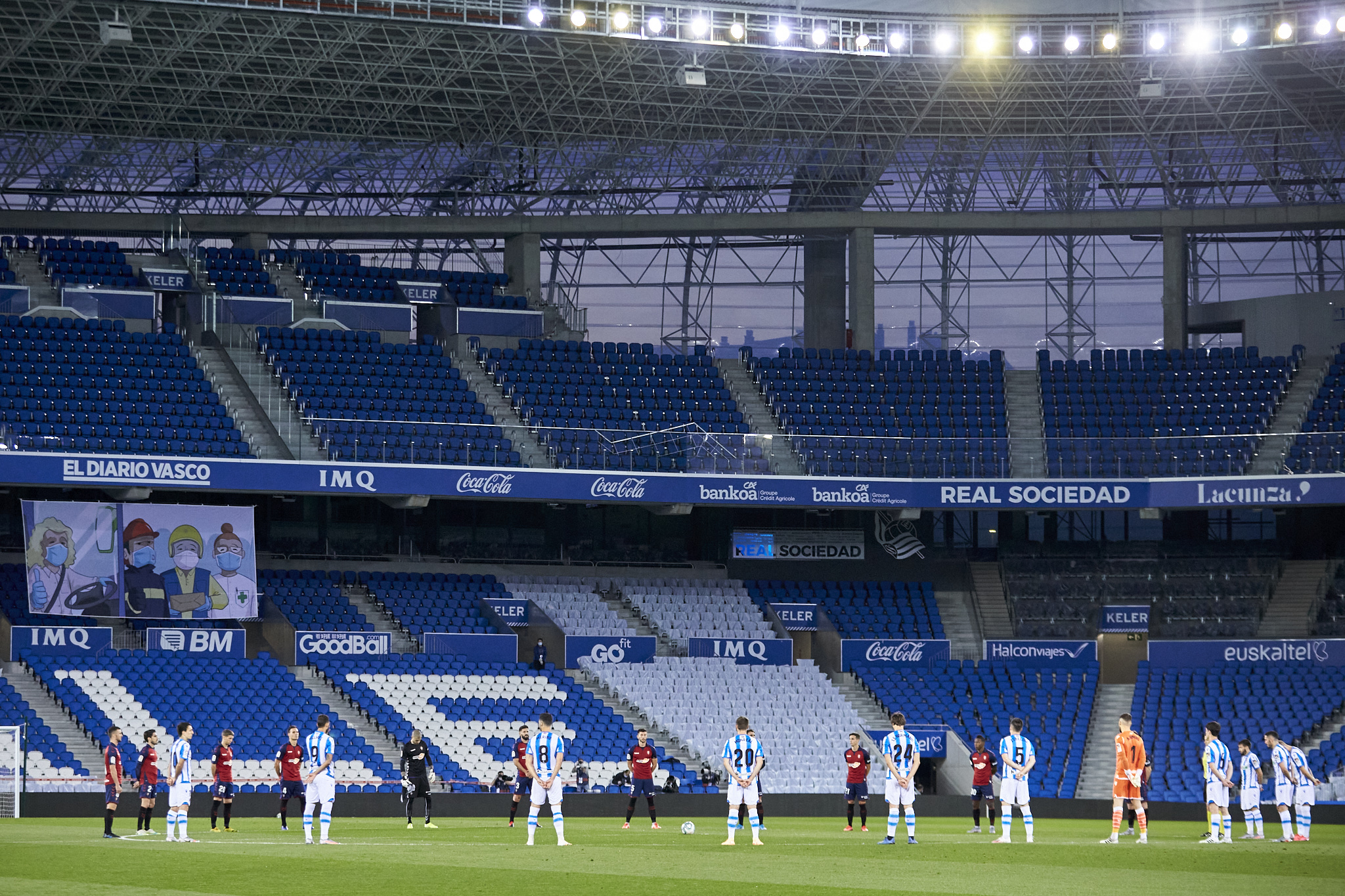A minute's silence held before each LaLiga match between now and the end of the season