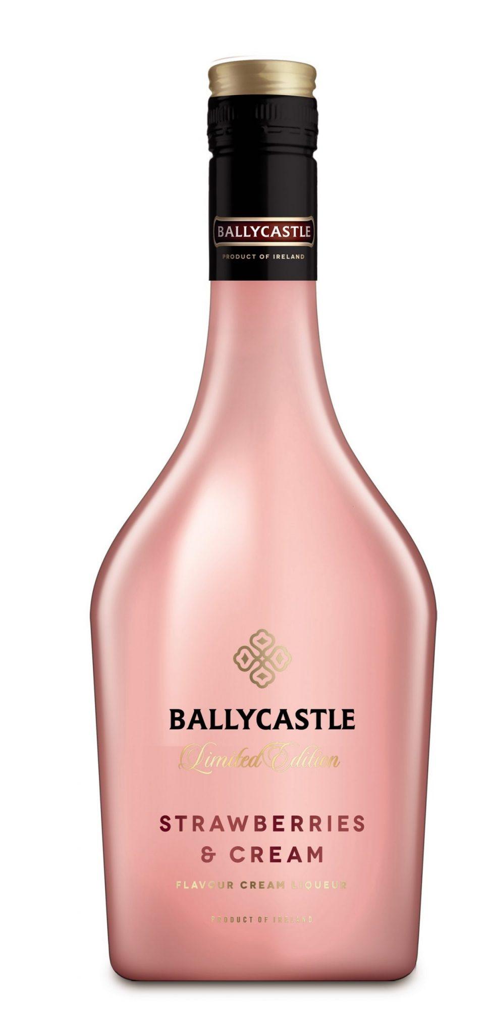Aldi's Ballycastle Strawberries and Cream Liqueur