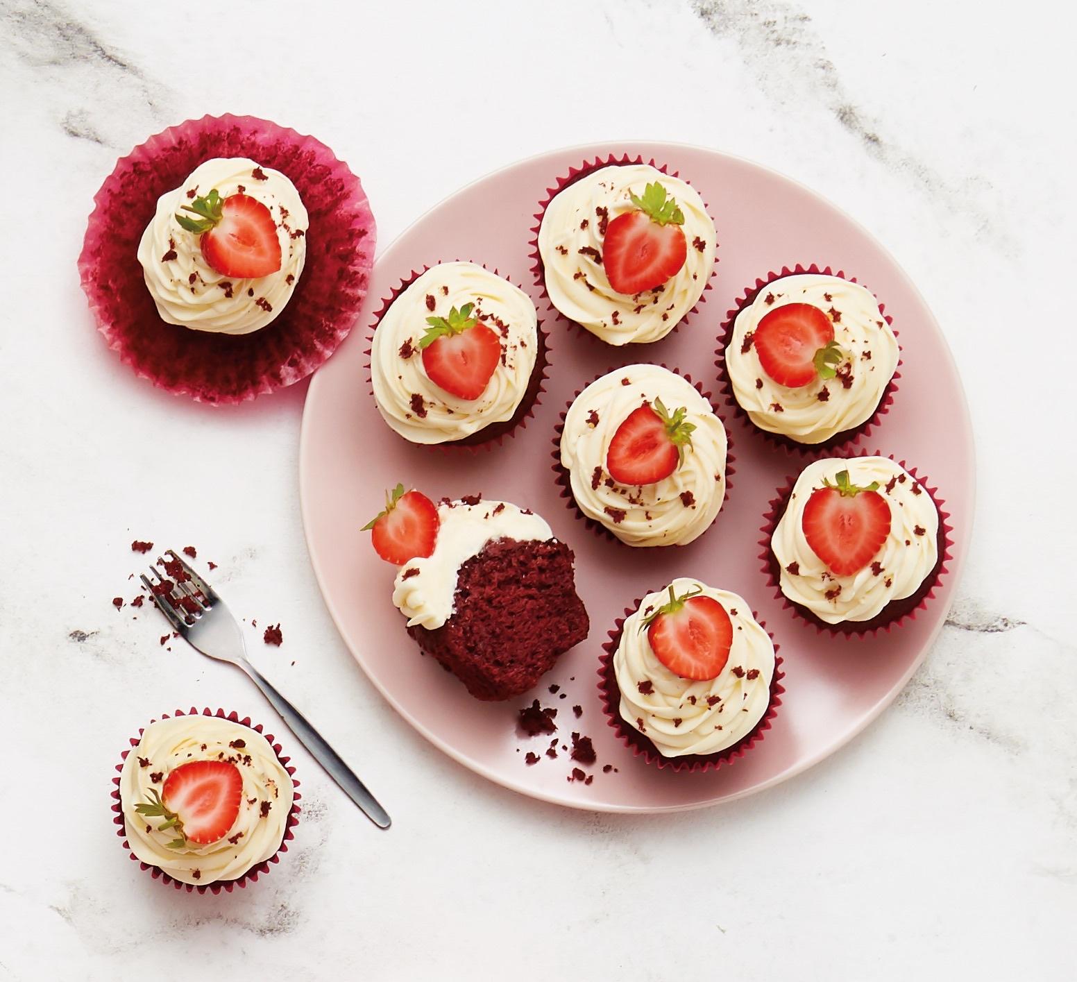 Aldi's Red Velvet Cupcakes