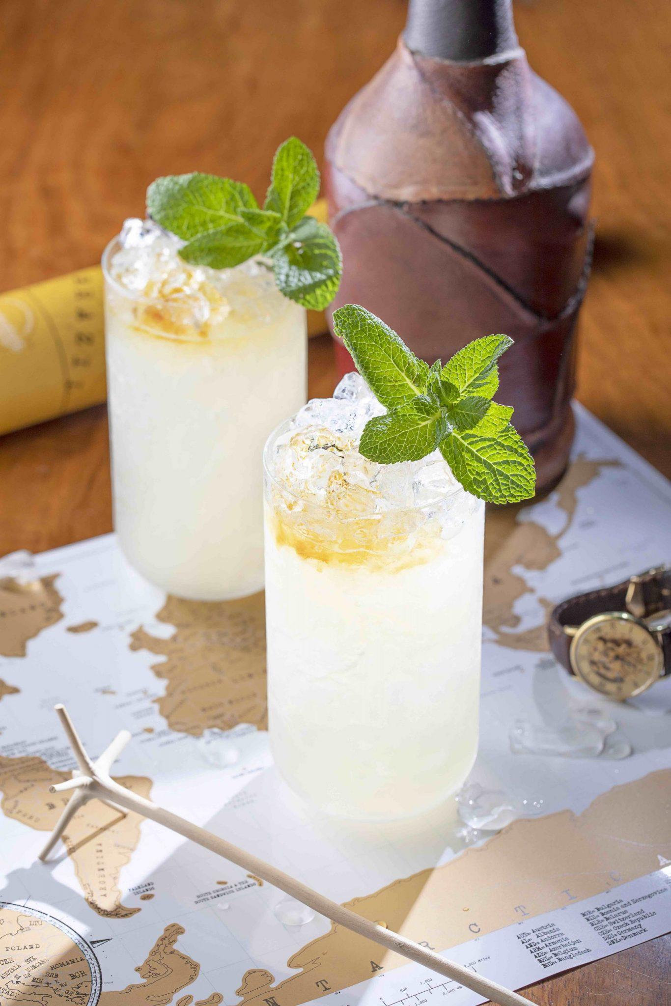 Bacardi Rum Redwood Swizzle