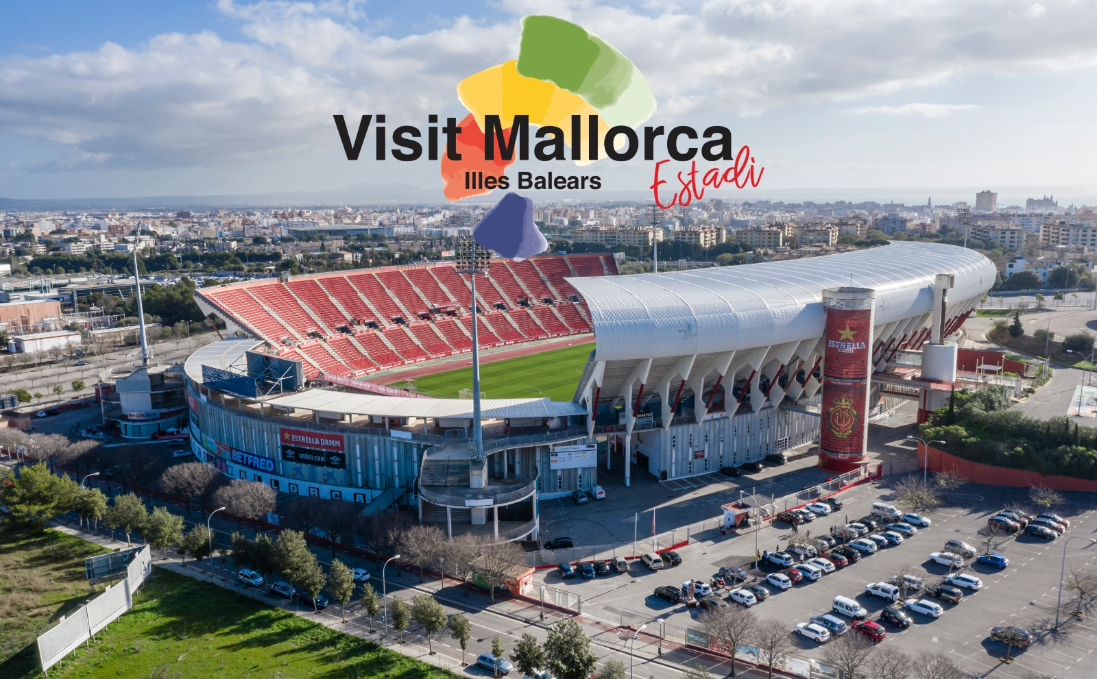Mallorca rename their stadium the 'Visit Mallorca Estadi' to promote tourism to the island