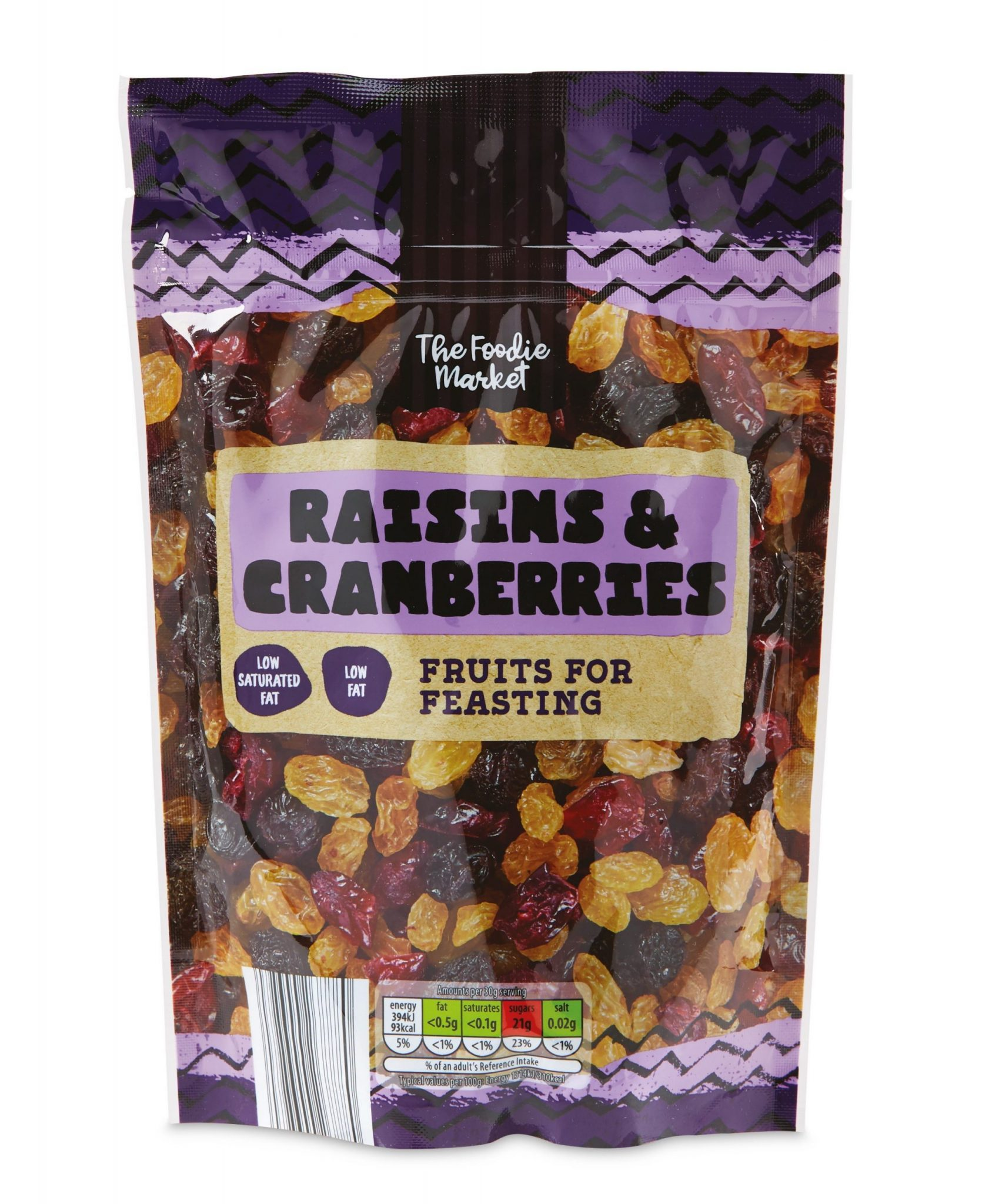 Raisin and Cranberry Mix, £1.19, 300g, available now.