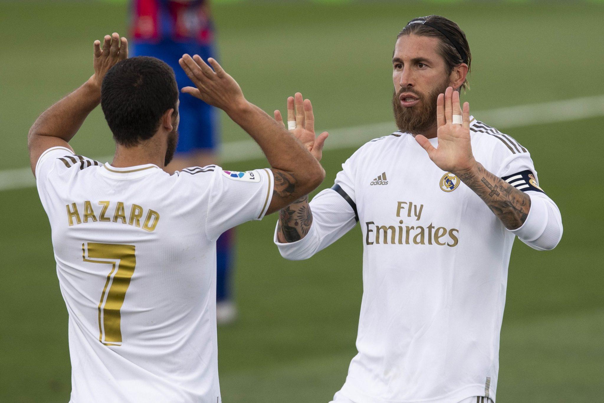 Sergio Ramos & Eden Hazard - Real Madrid