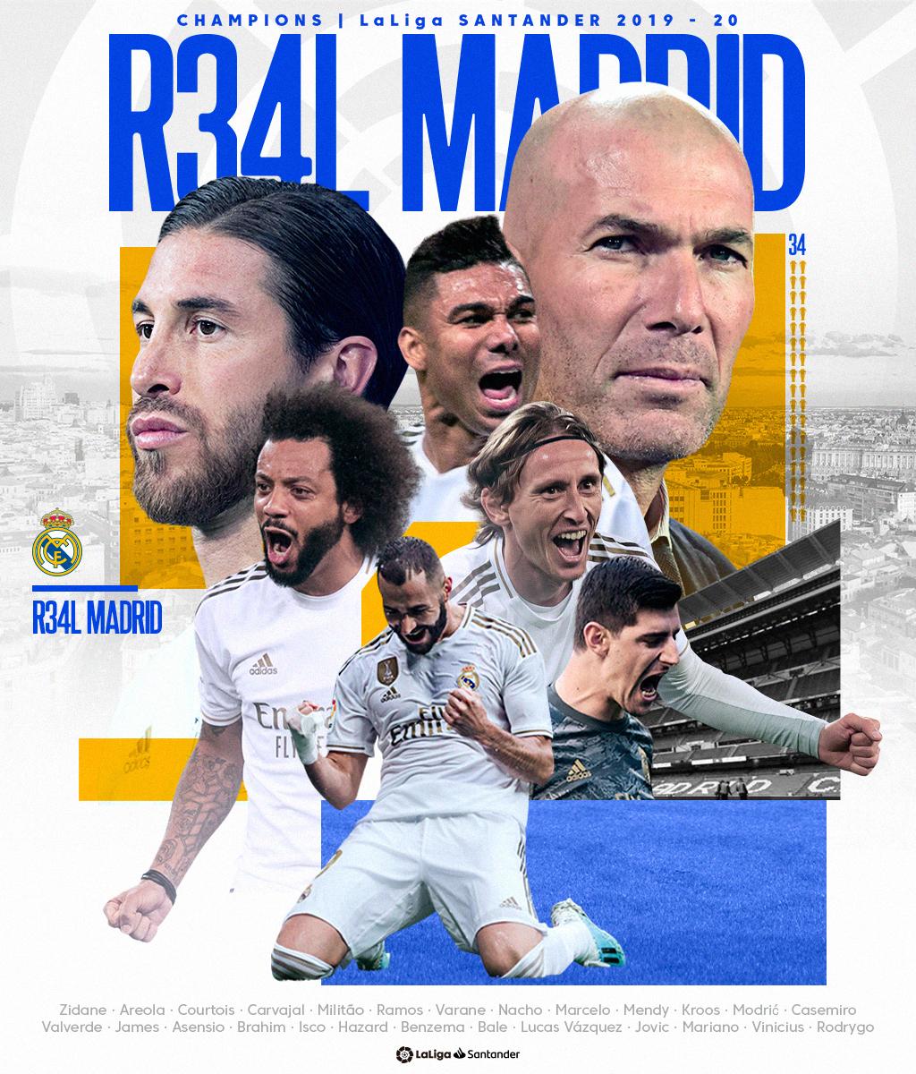ENG_Real Madrid LaLiga champions 2019-20