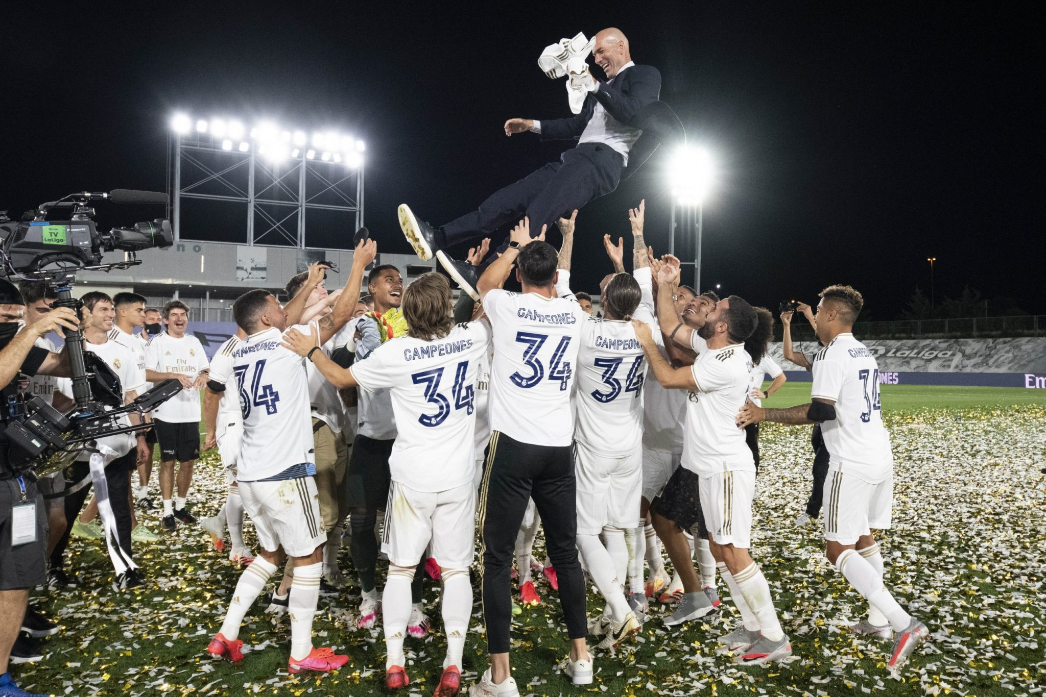 Real Madrid LaLiga champions 2019-20 6