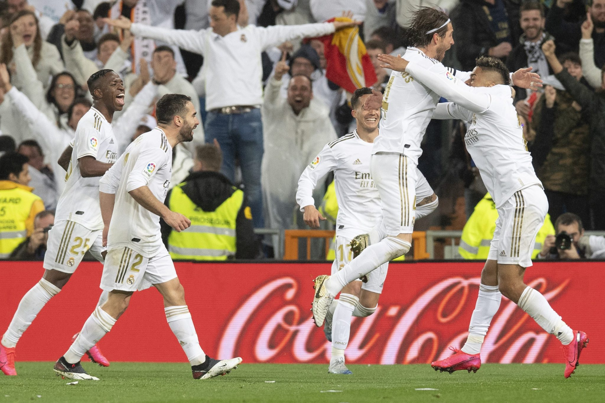 Real Madrid's El Clasico win (February 2020)