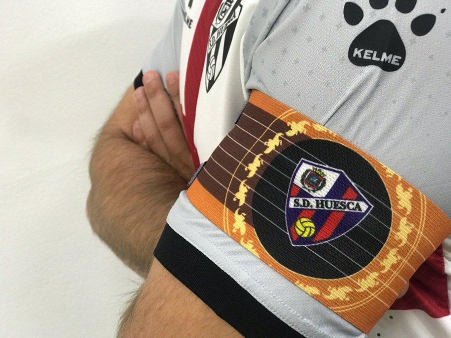 SD Huesca's armband vs Cádiz CF