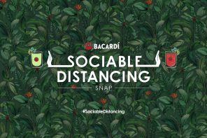BACARDÍ RUM CELEBRATES RETURNING TO THE BAR WITH NEW '1-METER PLUS' DISTANCING SNAPCHAT LENS