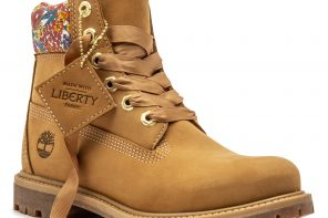 What to wear now: TIMBERLAND MADE WITH LIBERTY FABRICS
