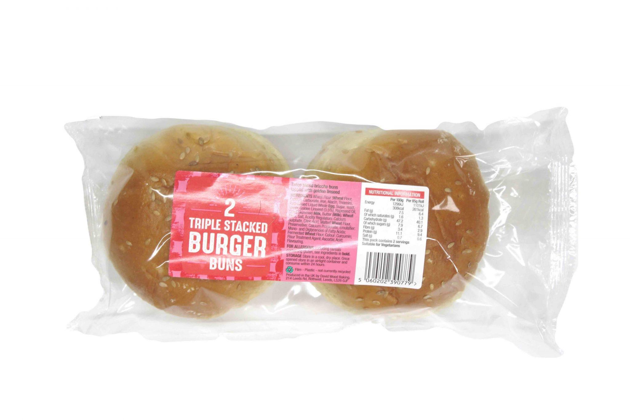 Triple Stacker Burger