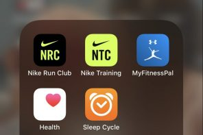 Top 5 apps to get training again!
