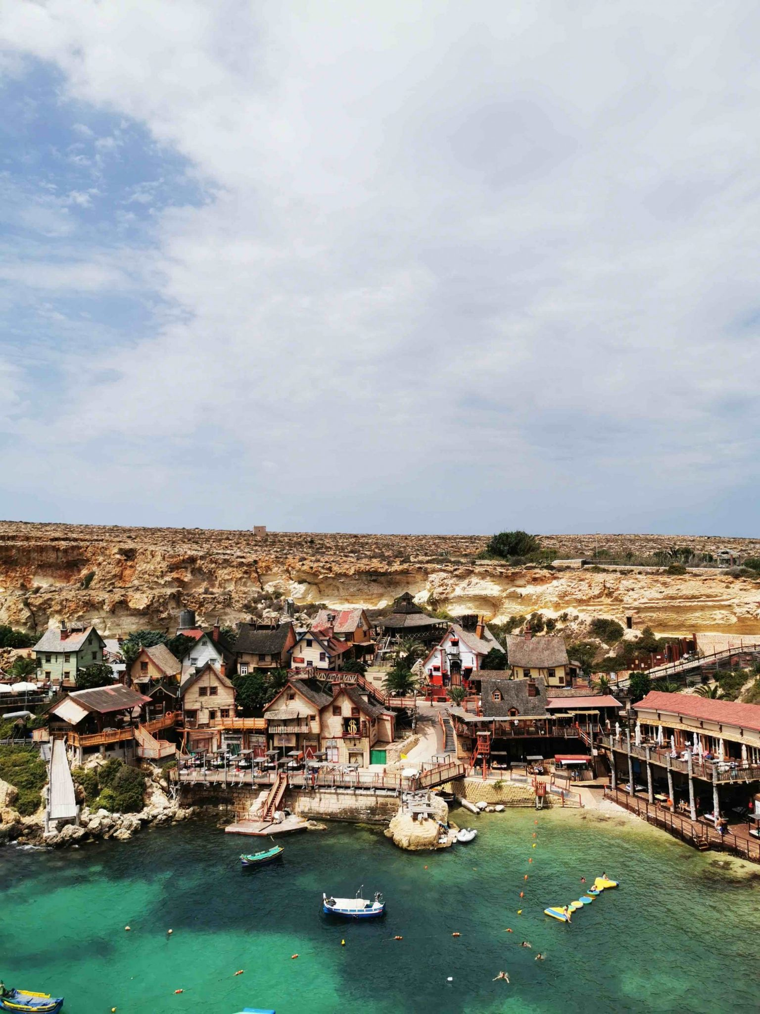 Popeye Village is one of the most popular attraction on the Island