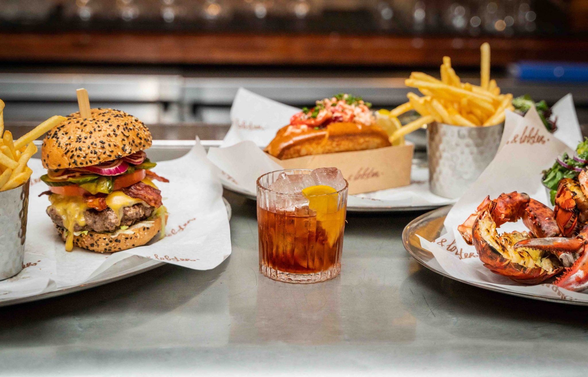 Burger & Lobster x Beefeater Gin Negroni 3