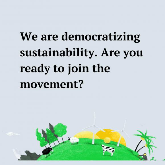 Democratizing Sustainability