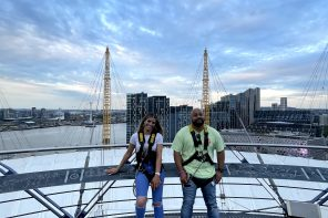 where to go now: Up at The O2