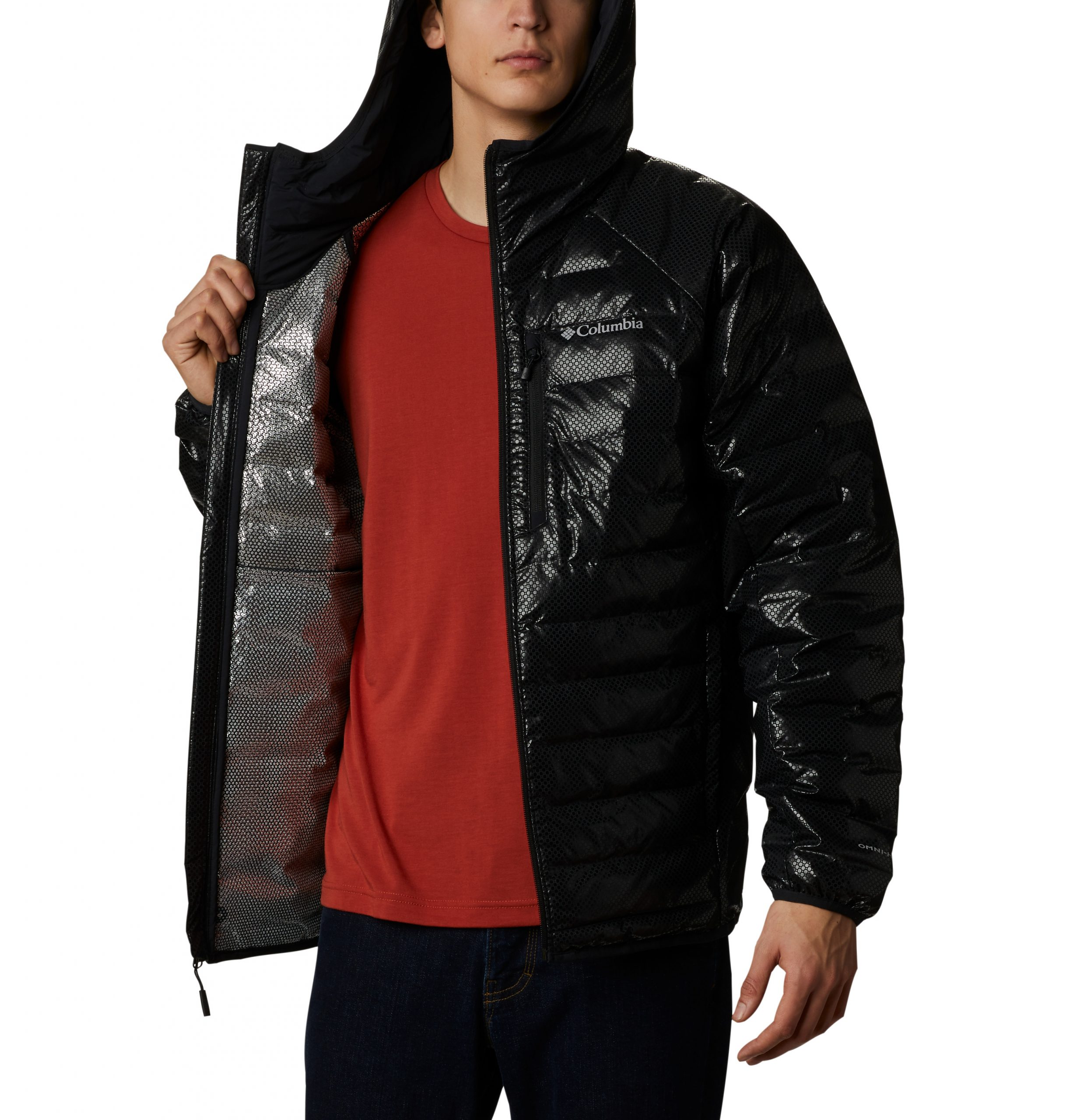 Men's Three Forks Black Dot Jacket V2
