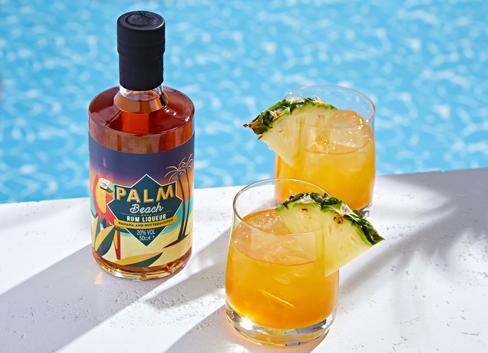 NEW! Palm Beach - Banana & Butterscotch. Cocktail - Banana Mai Tai
