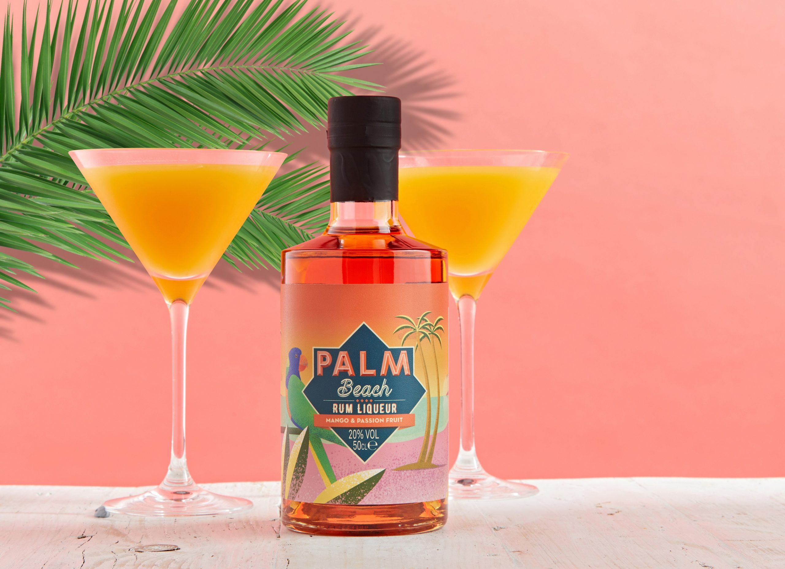 NEW! Palm Beach - Mango & Passionfruit. Cocktail - Reggae Star Martini