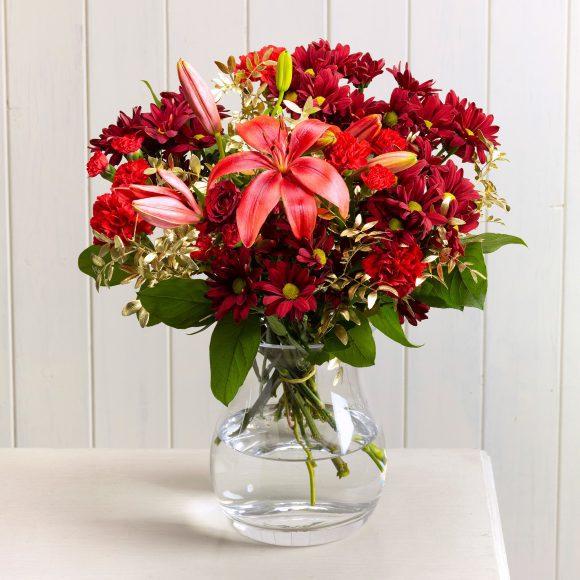 Red Mistletoe Serenata Flowers