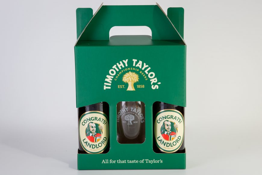 TIMOTHY TAYLOR'S PERSONALISED BOTTLES - 1