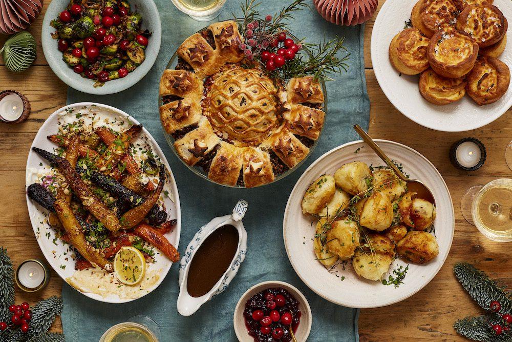 Aldi Christmas on a Plate - Vegan Table