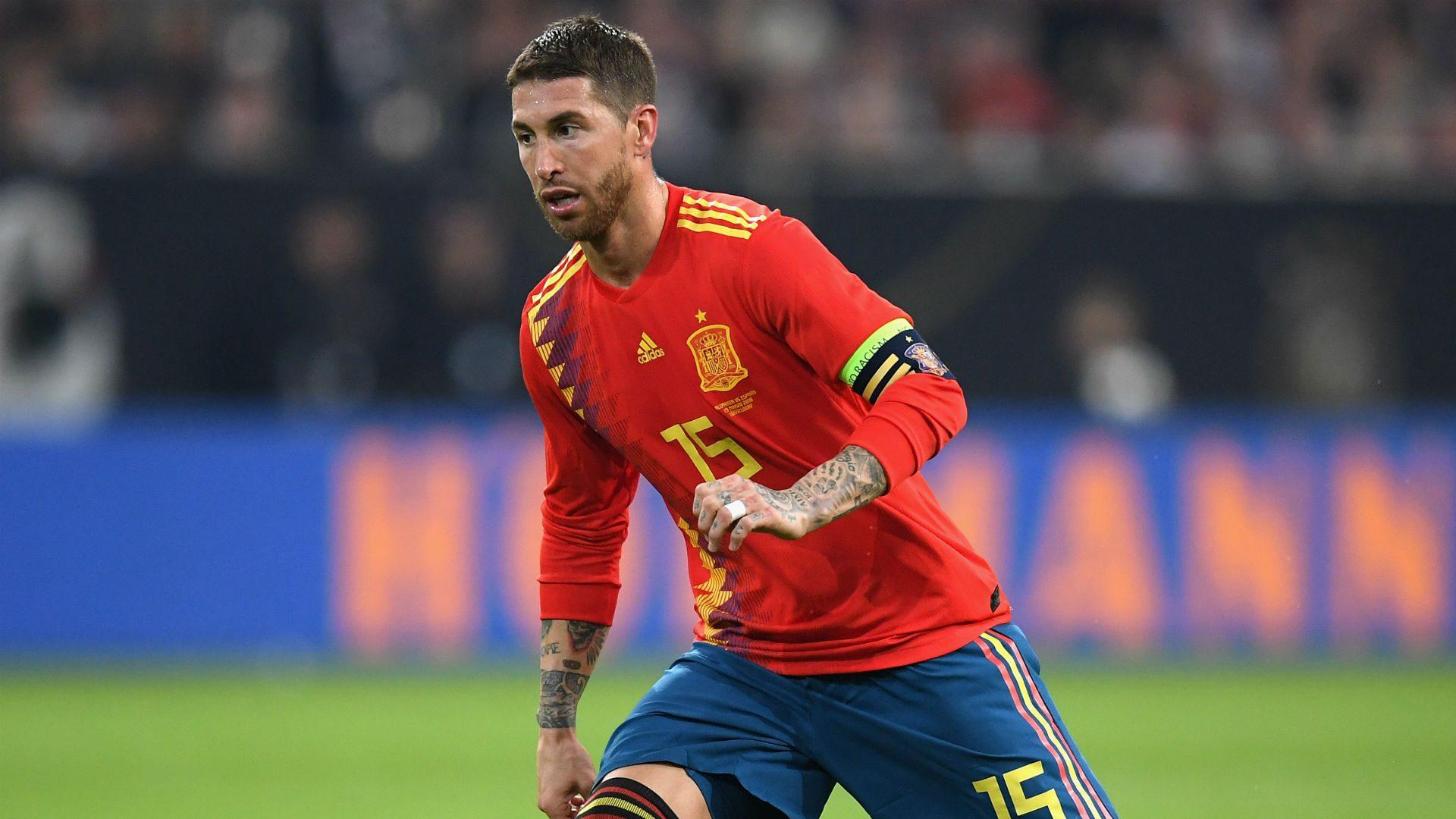 Ramos with Spain