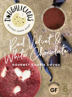 Red Velvet and White Chocolate Front