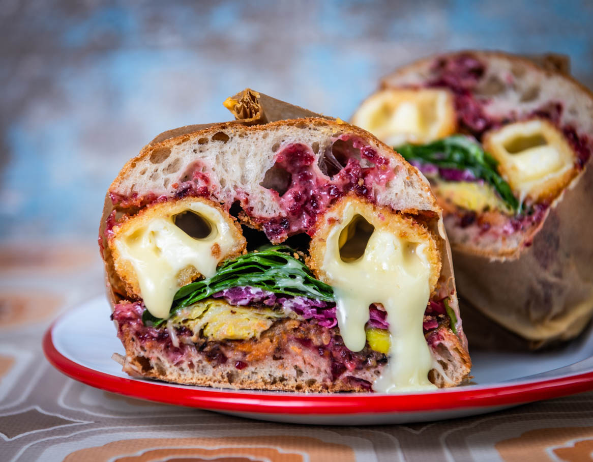 Saint Elmo's Christmas Sandwich