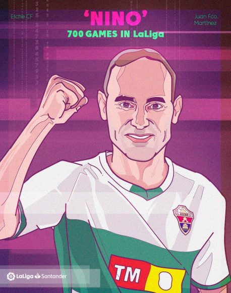 GRAPHIC_Nino becomes first player to 700 LaLiga games