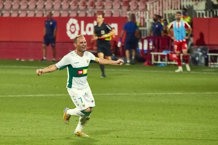 24/08/20. Girona FC 19/20 contra el Elche CF 19/20.  Final play-off vuelta Liga SmartBank Jornada 45