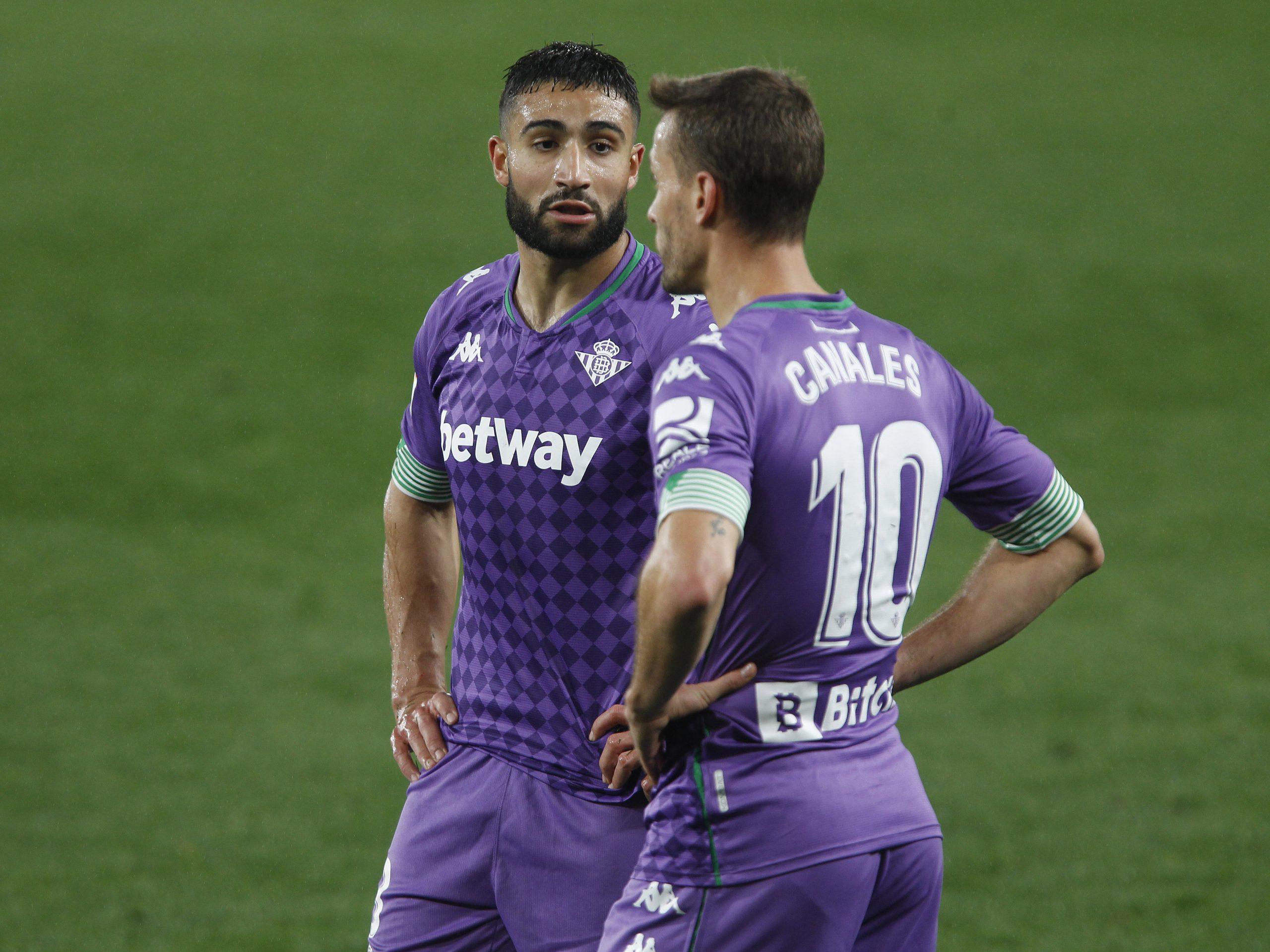 Nabil Fekir & Sergio Canales (Real Betis)