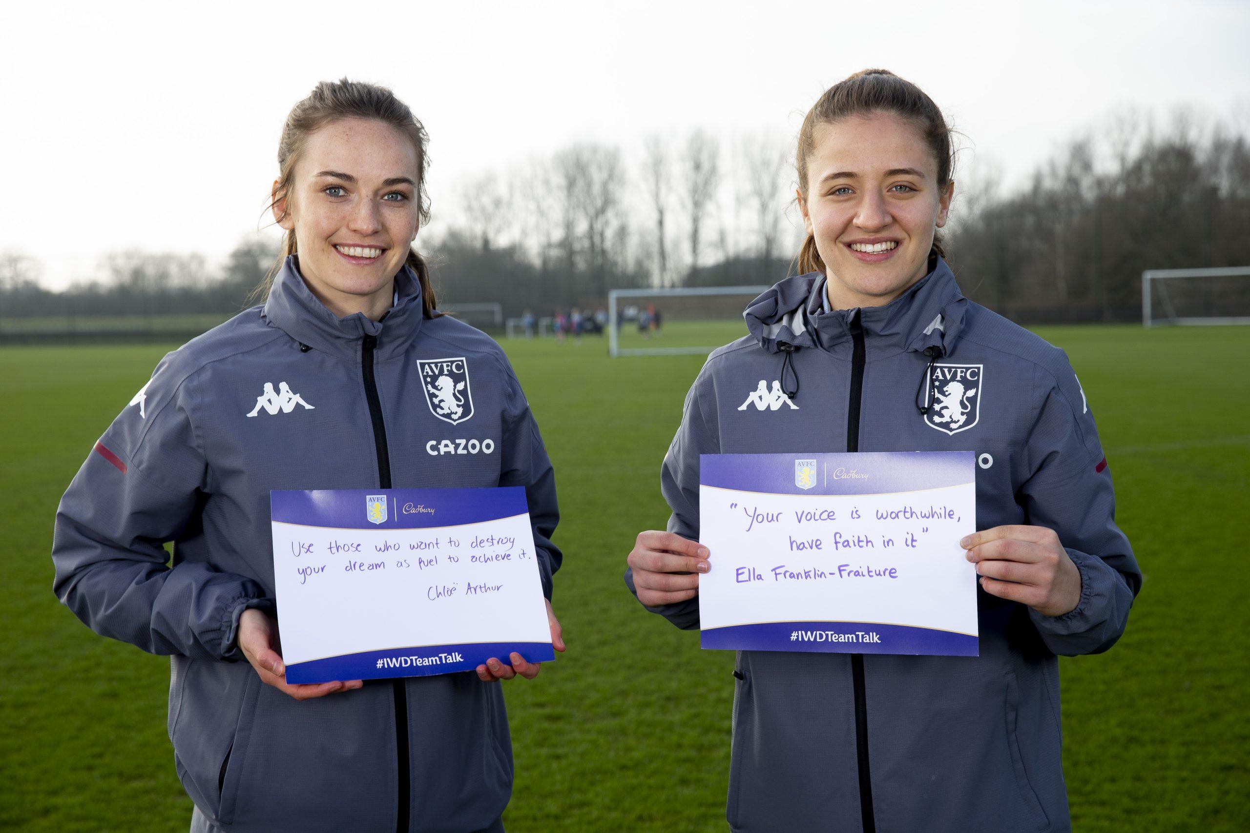 Aston Villa x Cadbury Team Talk (1)