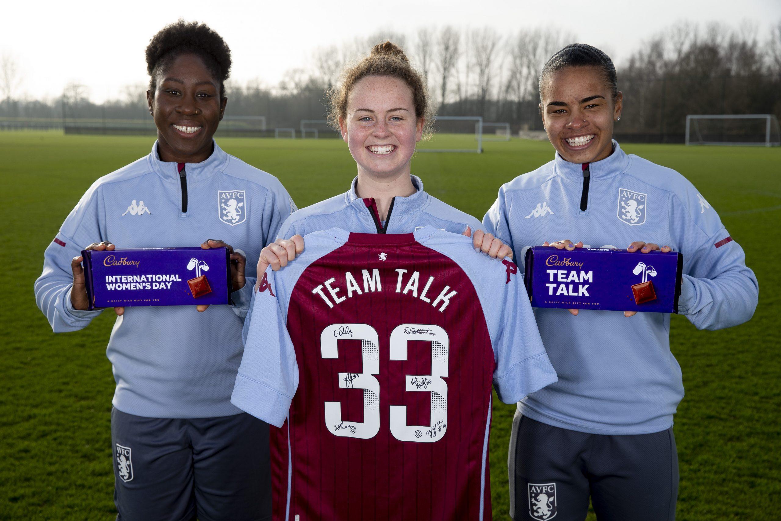 Aston Villa x Cadbury Team Talk (4)