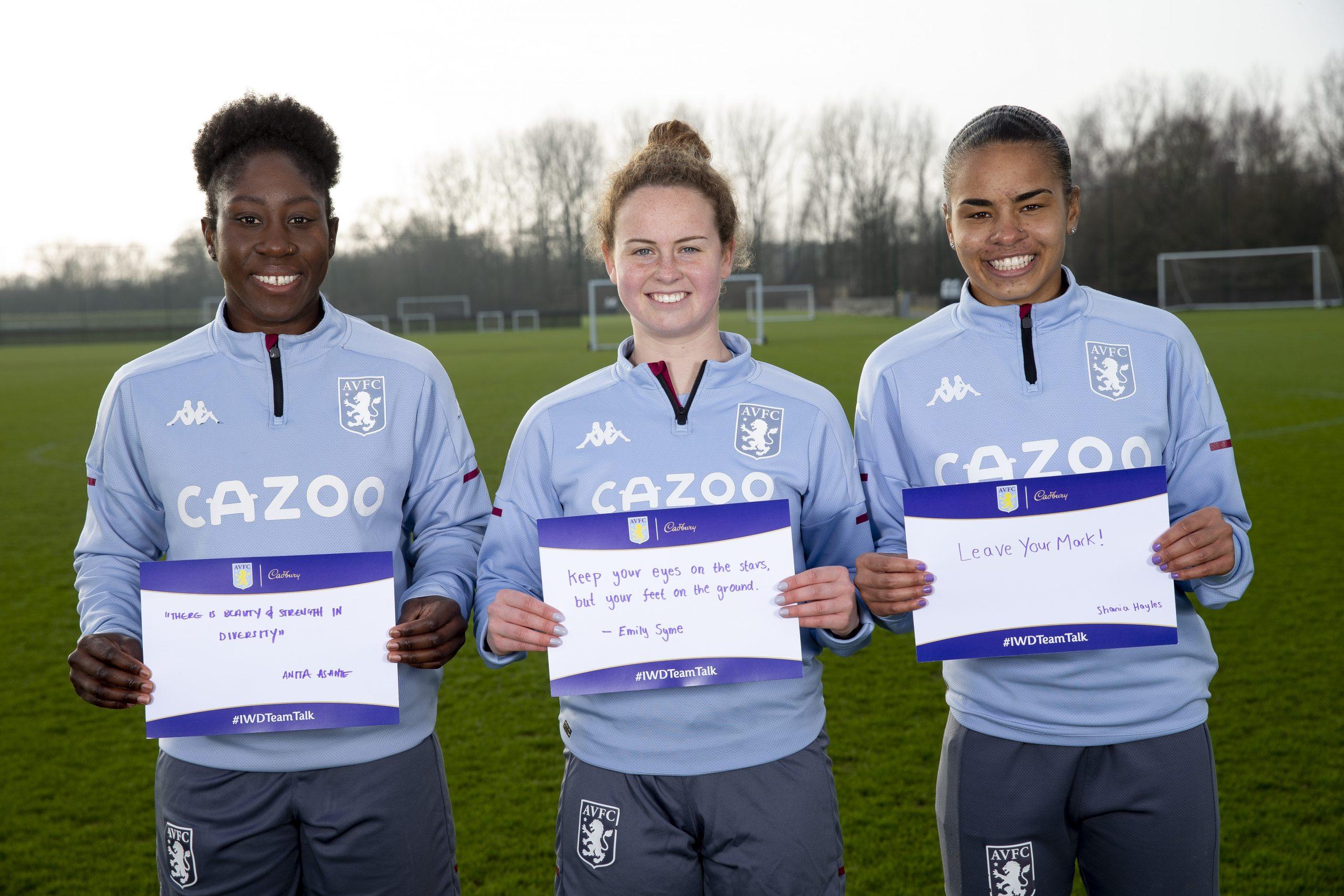 Aston Villa x Cadbury Team Talk (5)