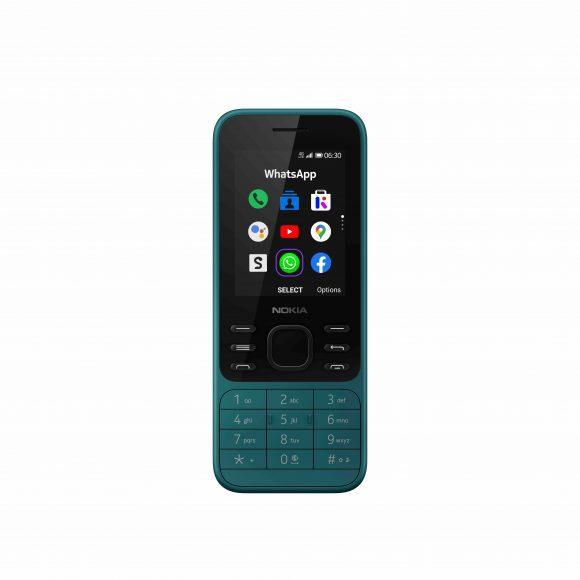 Nokia 6300 4G CyanGreen_Front