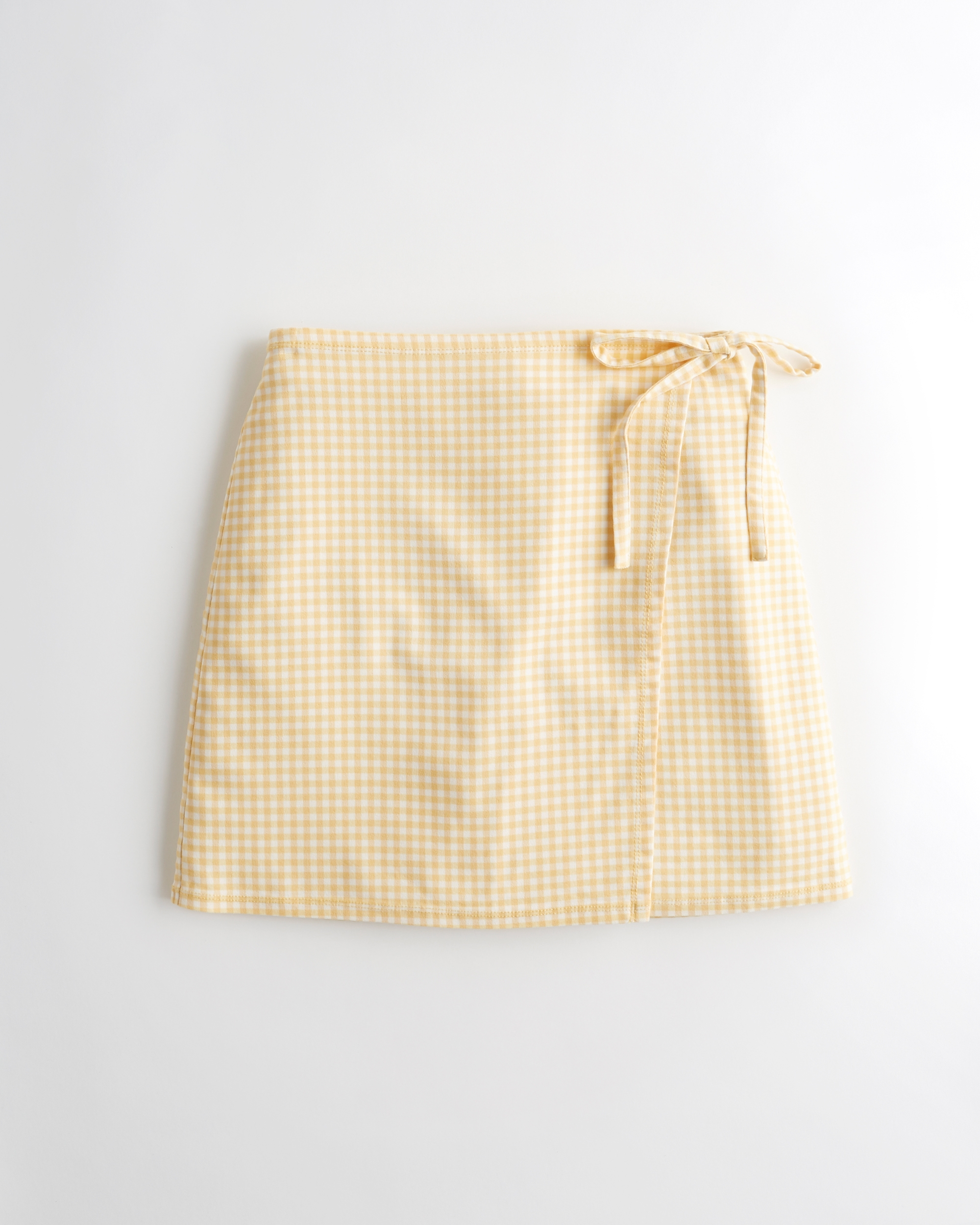 Ultra High-Rise Mini Wrap Skirt