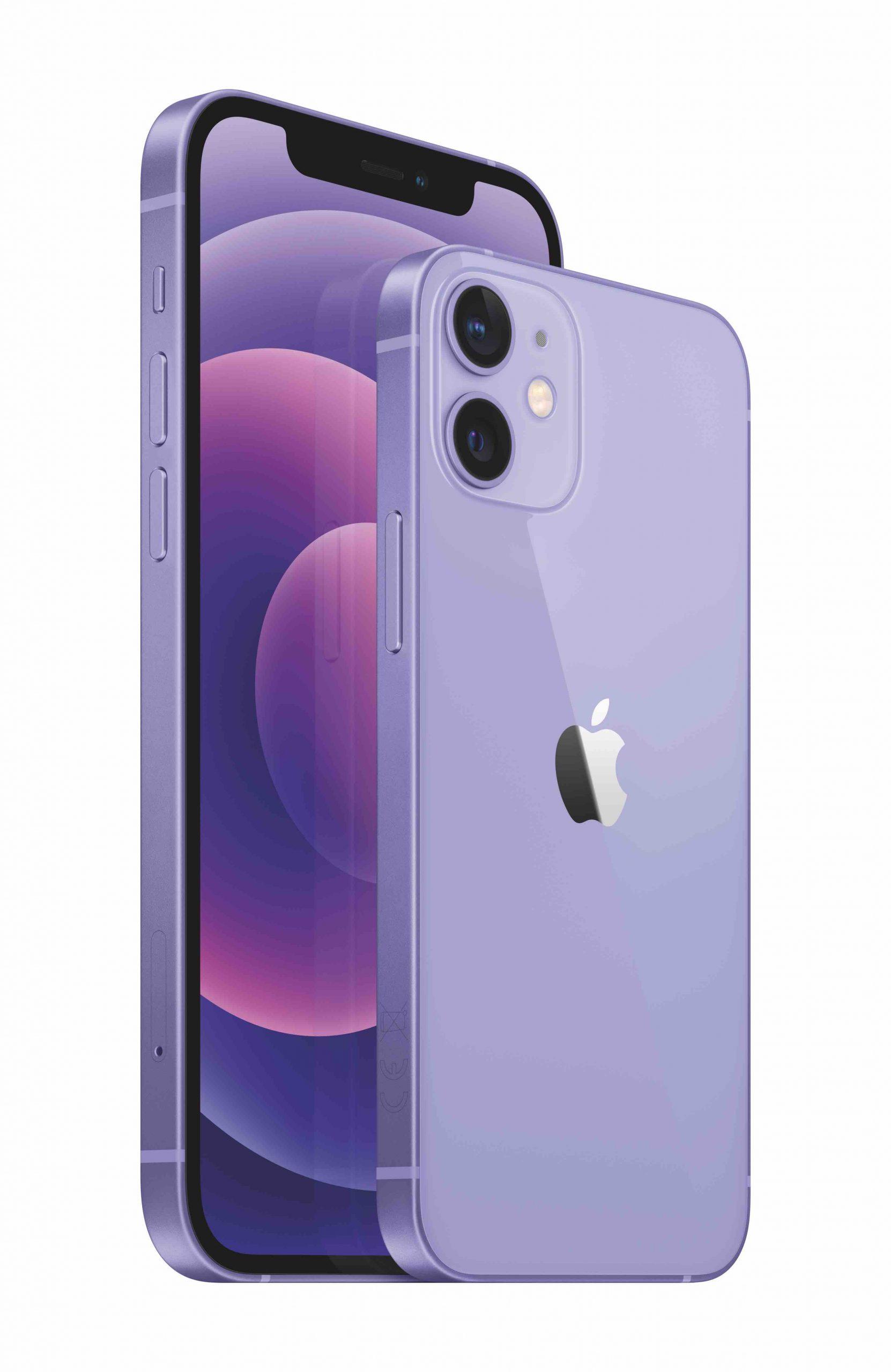 iPhone_12_Purple_34FL_iPhone_12_mini_Purple_34BR_2-up_Print__GBEN