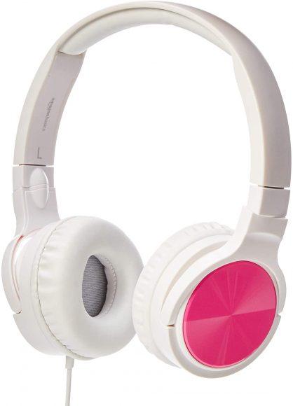 Amazon Basics Lightweight On-Ear Headphones