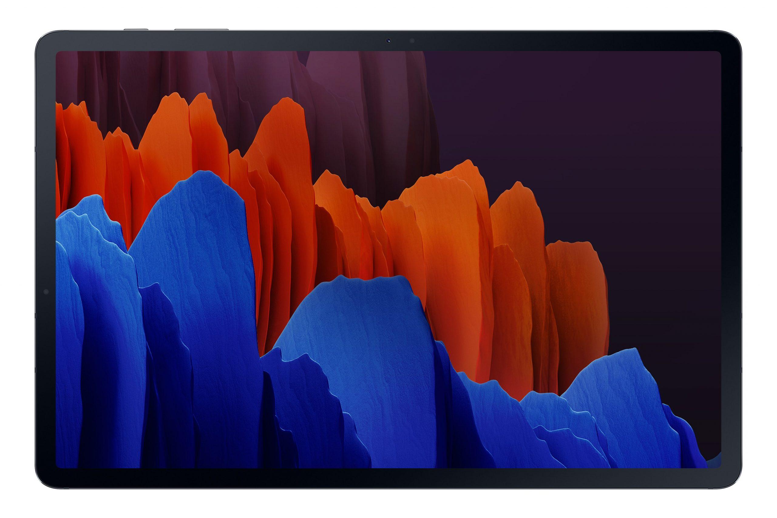 Galaxy Tab S7+ Mystic Black (Front)